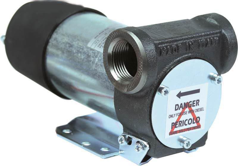 Bigga BP-DC45 – насос для перекачки дизельного топлива. Питание 12 Вольт. Продуктивность насоса 45 л/мин.