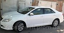 Дефлекторы окон (ветровики) Toyota Camry xv55 Европа (Тойота Камри 55 кузов 2014г-2018г)