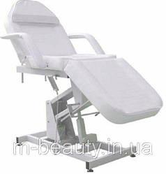 Кушетка для косметолога электрическая с регулировкой высоты, цвет-белый