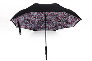 Зонт Лондон красный