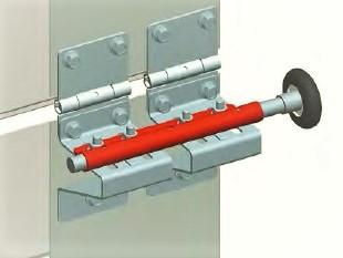 Накладка роликовая RP121 дуплексная промежуточная