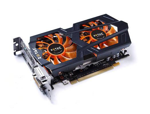 Zotac GeForce GTX660  2Gb DDR5  Полностью рабочая!