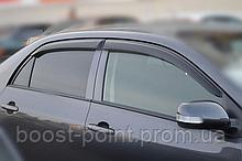 Дефлекторы окон (ветровики) Toyota corolla X Sedan (тойота королла 2007+)