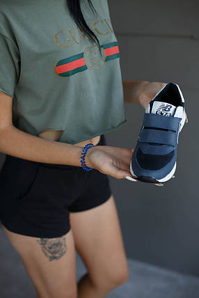 Кроссовки женские New Balance.Кожа/Липучка, фото 2