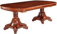 Обеденный стол Р-22 раздвижной, цвет орех