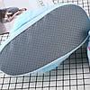 Плюшевые тапочки Единороги голубые, фото 4