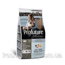 Сухой корм Пронатюр (Pronature Holistic Adult Atlantic Salmon&Brown Rice) с лососем и рисом для котов, 5.44 кг