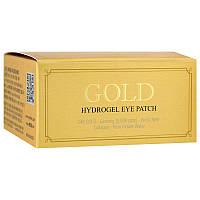 Патчи для глаз с золотым гидрогелем, 60 шт, Petitfee, Gold Hydrogel Eye Patch
