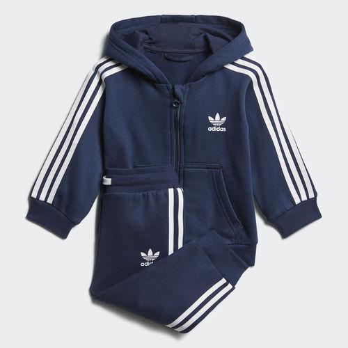 57f5ecabcbabaf Детский костюм Adidas Originals Trefoil Full Zip Hoodie (Артикул: D96096) -  Адидас официальный