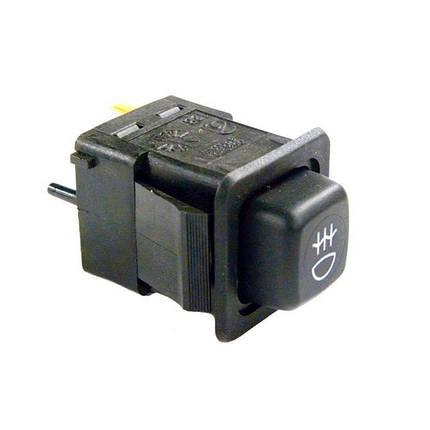 Клавиша включения задних противотуманных фонарей ВАЗ-2109 Авар, фото 2