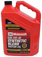 "Масло моторное полусинтетическое Ford Motorcraft ""Synthetic Blend Motor Oil 5W-30"" XO5W305QSP, 4,73 л"