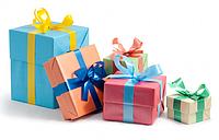Подарунки,декор