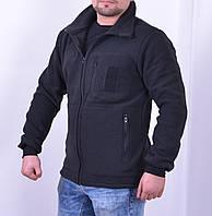 Кофта флисовая, БАЗА - 260 гр/м Черная