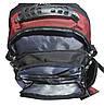 Городской рюкзак 35 литров Черный Victory 6602, фото 8
