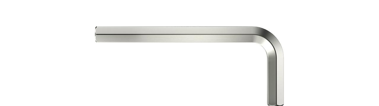 Г-подібний шестигранник короткий нікельований SW 3,0 мм vernickelt