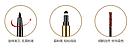 Карандаш для бровей 3в1 BEATY EYEBROWS от «BIOAQUA» B013 (темно коричневый), фото 6