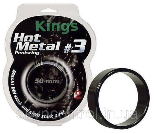 Эрекционое Кольцо  HOT METAL, фото 2