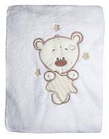 NEW! Теплые махровые пледы для малышей - Мишка на звездочке ТМ УКРТРИКОТАЖ!