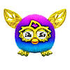 Furby Furblings Фёрблинг PURPLE TO BLUE