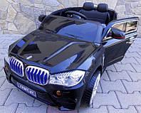 Большой детский электромобиль Cabrio B6 с мягкими колесами (EVA колеса) (черный), фото 1