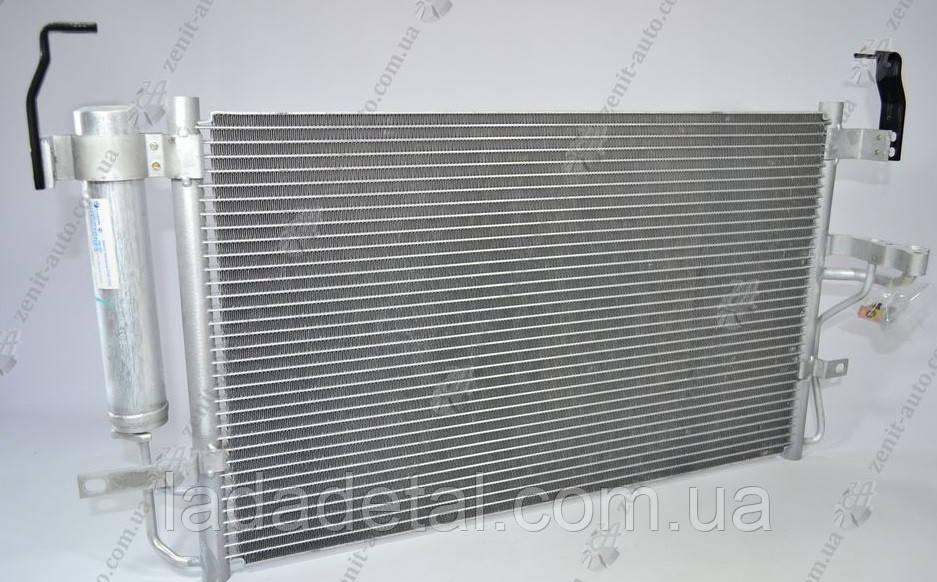 Радиатор кондиционера Элантра HyundaiElantra 2.0 (00-) АКПП/МКПП с ресивером (97606-2D000)