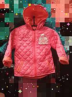 Демисезонная куртка для девочки  1,2,3 года