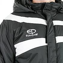 Куртка зимняя Europaw TeamLine черная, фото 3