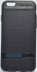 Кожаный Чехол EasyBear Leather для Apple Iphone 6G (Черный)