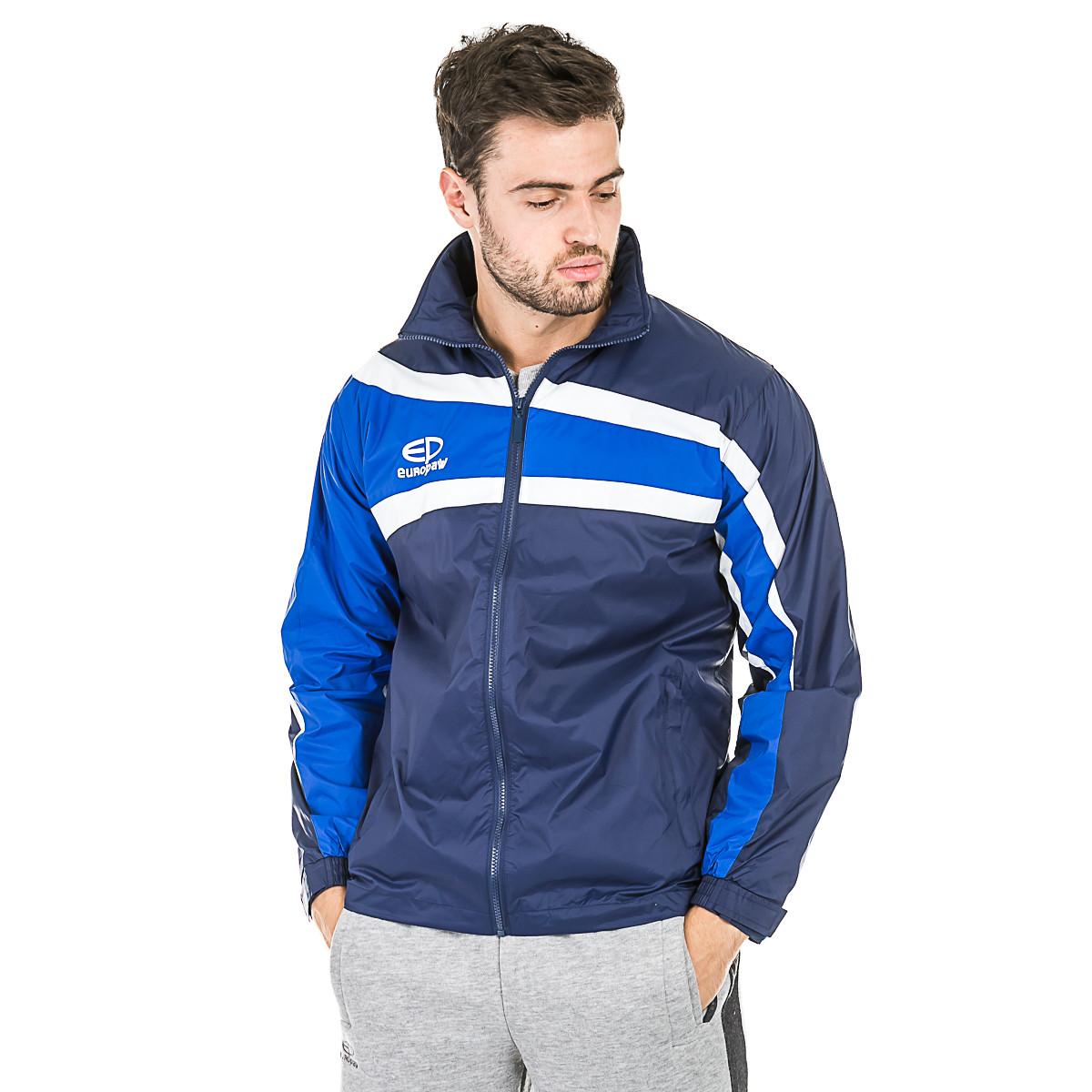 Куртка ветрозащитная Europaw TeamLine синяя