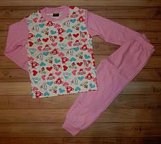 Детские пижамы для девочки Мультяшки 1-6 лет