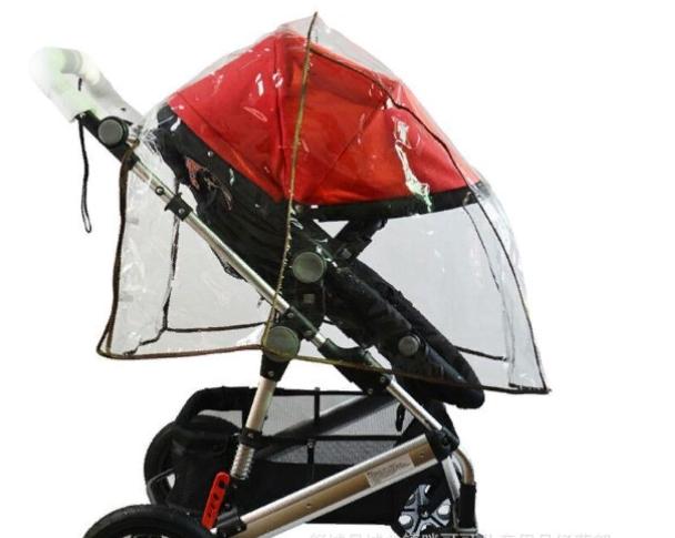 Дождевик на прогулочную коляску универсальный