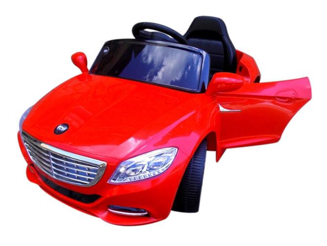 Детский электромобиль Cabrio S1 с EVA колесами (красный)