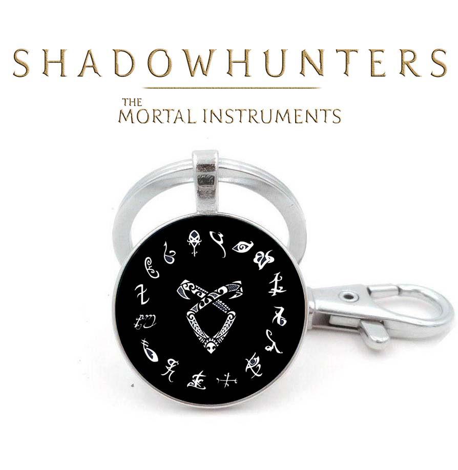 Брелок Сумеречные охотники  Сумеречные охотники Ангельская руна в окружении рун Shadowhunters