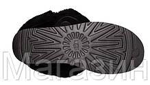 Женские угги UGG Australia Bailey Button, короткие угги австралия оригинал с пуговицей черные, фото 3