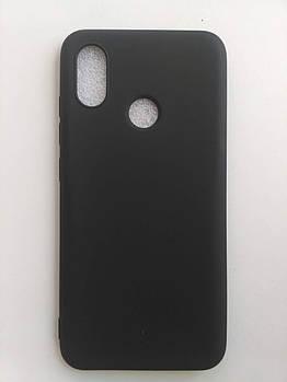 Силиконовый чехол Xiaomi Mi 8 SE черный матовый