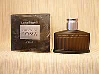 Laura Biagiotti - Essenza Di Roma Uomo (2013) - Туалетная вода 125 мл (тестер) - Редкий аромат