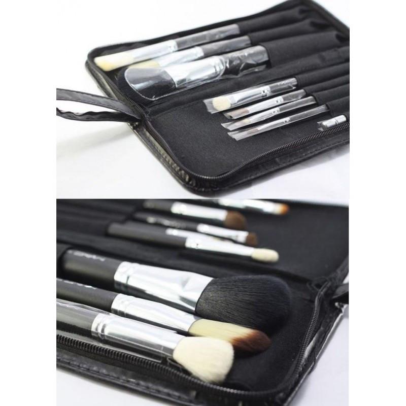 РАСПРОДАЖА!!! Кисти для макияжа MAC 8 штук в кошельке (ЕСТЬ БРАК)