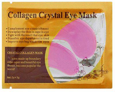 Патчи коллагеновые под глаза Collagen Crystal Eye Mask, pink
