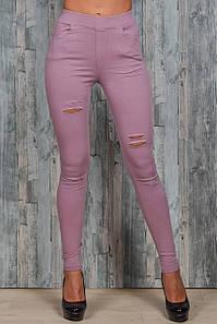 Женские джинсы стрейч Ласточка A653-2-3 S-M. Размер 38-42.
