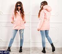 Женская куртка утепленная с капюшоном синтепон 150 42 44 46 размеры от производителя 7 км Одесса