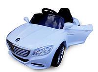 Детский электромобиль Cabrio S1 с EVA колесами (белый)