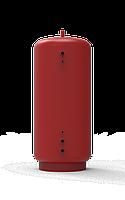 Аккумулирующий бак, буферная емкость на 400 литров с верхним / нижним змеевиком на 30 кВт с полусферами, фото 1