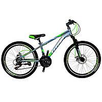 Горный подростковый велосипед Titan Focus 24 (2018) new