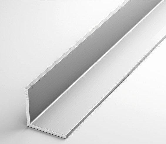 Уголок алюминиевый разносторонний 100х40х4 анодированный