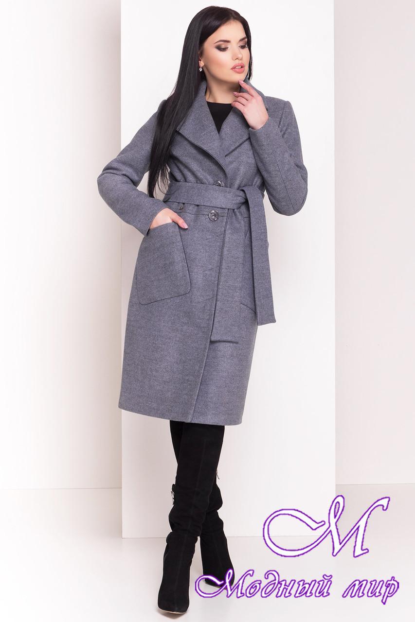 Теплое женское зимнее пальто (р. S, М, L) арт. Габриэлла 4360 - 20999