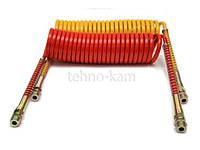 Шланг воздушный Евро (красный+желтый) полиамидный М22-5,5м