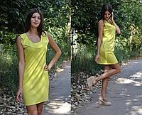 Мини платье с воланом