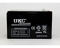 Аккумулятор Battery UKC 12V, 12A, свинцово-кислотные SLA, 14,4 – 15 В, герметичный, аккумулятор 12V, аккумулятор UKC