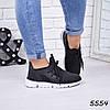 Кроссовки женские LightStep черные 5554 спортивная обувь