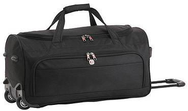 ccc5bff2d5e8 Дорожная сумка Enrico Benetti Adelaide Eb49008 001, на колесах 46 л